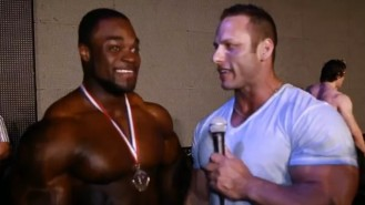 Interview with 2013 Arnold Brazil Winner Brandon Curry Video Thumbnail