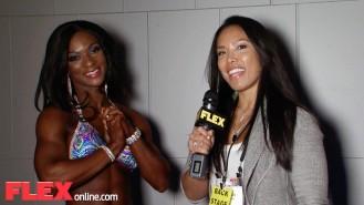 2015 Arnold Figure International Runner Up, Candice Lewis Video Thumbnail