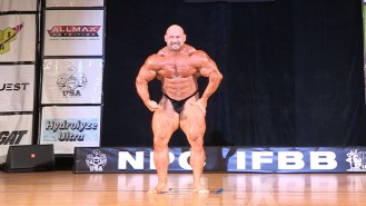 Branch Warren Guest Posing at the 2015 Pittsburgh Pro Video Thumbnail