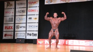 2016 IFBB Pittsburgh Pro Guest Posing: Brian Yersky Video Thumbnail