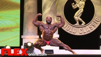 Charles Dixon's 2015 Arnold Classic 212 Posing Routine Video Thumbnail