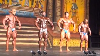 2013 Dallas Europa Pro Men's BB Final Posedown! Video Thumbnail