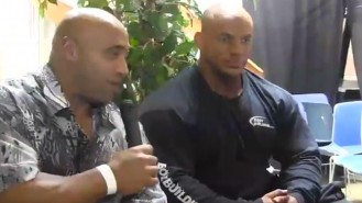 Dennis James Interviews Big Ramy in New York Video Thumbnail