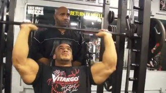 Dennis James Trains Mamdouh Elssbiay 3 Days Before NY Pro Video Thumbnail