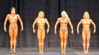 Fitness Pre-Judging Call Outs - 2015 IFBB Toronto Pro Video Thumbnail