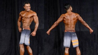 Mario Peraza Men Physique 35+ Overall Winner Interview Video Thumbnail