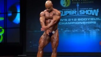 Mark Dugdale 2013 Toronto Pro Posing Routine Video Thumbnail