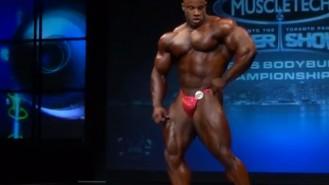 IFBB Pro Victor Martinez Toronto Pro Posing Routine Video Thumbnail