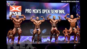 Open Bodybuilding Comparisons - 2015 EVLS Prague Pro Gallery Thumbnail