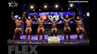 Open Bodybuilding Awards - 2015 IFBB EVLS Prague Pro Gallery Thumbnail