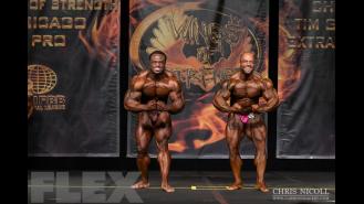 Men's Open Bodybuilding Comparisons - 2015 Chicago Pro Gallery Thumbnail