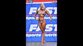 Giorgia Foroni - Fitness - 2015 IFBB Nordic Pro Gallery Thumbnail