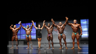 Open Bodybuilding Posedown & Awards - 2015 IFBB Toronto Pro Gallery Thumbnail