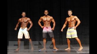 Men's Physique Final Comparisons & Awards - 2015 IFBB Toronto Pro Gallery Thumbnail