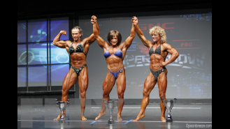 Women's Bodybuilding Final Comparisons & Awards - 2015 IFBB Toronto Pro Gallery Thumbnail