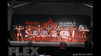 Women's Bodybuilding Comparisons - 2016 IFBB Toronto Pro Supershow Gallery Thumbnail
