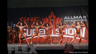 Women's Physique Comparisons - 2016 IFBB Toronto Pro Supershow Gallery Thumbnail