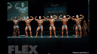 2016 IFBB Vancouver Pro: 212 Bodybuilding Comparisons Gallery Thumbnail