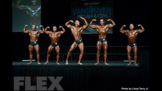 2016 IFBB Vancouver Pro: Classic Physique Comparisons Gallery Thumbnail