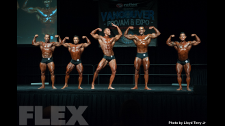 2016 IFBB Vancouver Pro: Classic Physique Comparisons Gallery Thumbnail