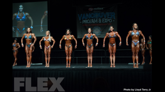 2016 IFBB Vancouver Pro: Figure Comparisons Gallery Thumbnail
