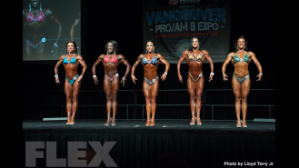 2016 IFBB Vancouver Pro: Fitness Comparisons Gallery Thumbnail