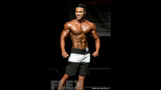2016 IFBB Vancouver Pro: Men's Physique - Jared Goodrich Gallery Thumbnail