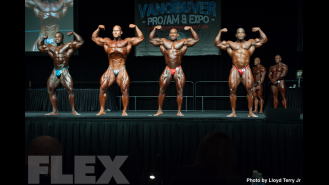 2016 IFBB Vancouver Pro: Open Bodybuilding Comparisons Gallery Thumbnail