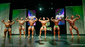 Comparisons - Open Bodybuilding - 2016 IFBB Ferrigno Legacy Pro Gallery Thumbnail