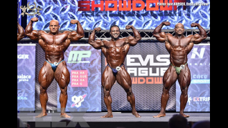 Comparisons - Open Bodybuilding - 2016 IFBB EVLS Prague Pro Gallery Thumbnail