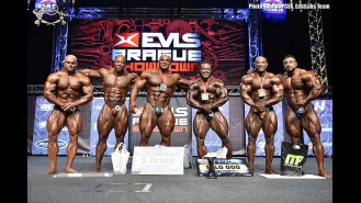 Awards - Open Bodybuilding - 2016 IFBB EVLS Prague Pro Gallery Thumbnail