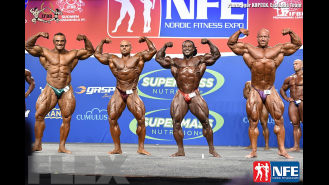 Comparisons - Open Bodybuilding - 2016 IFBB Nordic Pro Gallery Thumbnail
