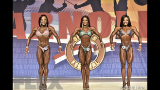 Figure Comparisons - 2017 Arnold Classic Gallery Thumbnail