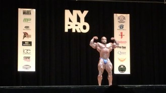 Akim Williams - 5th Place Open Bodybuilding 2017 NY Pro Video Thumbnail