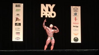 Luis Rodriguez - 4th Place Open Bodybuilding 2017 NY Pro Video Thumbnail
