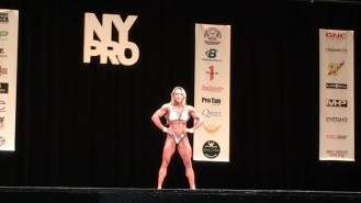 Margita Zamolova - 3rd Place Women's Physique 2017 NY Pro Video Thumbnail