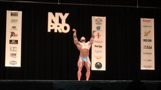 Sergio Oliva Jr. - 1st Place Open Bodybuilding 2017 NY Pro Video Thumbnail
