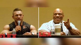 Flex Lewis and Phil Heath Wrap Up the 2017 Olympia Superstar Seminar Video Thumbnail