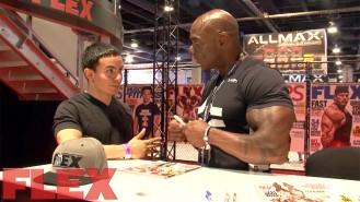 2017 Olympia Expo Booth: Flex Wheeler Video Thumbnail