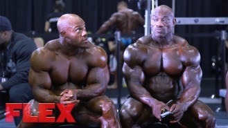 2017 Olympia Pump Up Room: The Men Video Thumbnail
