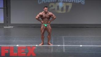 2017 IFBB Toronto Pro: 212 Bodybuilding, Mehdi Hatami 4th Place Video Thumbnail