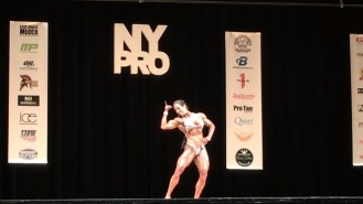 Maria Rita Penteado - 2nd Place Women's Physique 2017 NY Pro Video Thumbnail