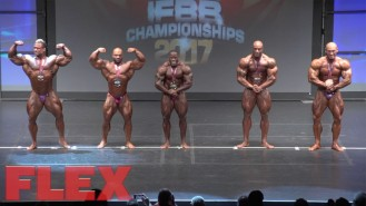 2017 IFBB Toronto Pro: Open Bodybuilding Final Posedown & Awards Video Thumbnail