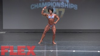 2017 IFBB Toronto Pro: Women's Bodybuilding, Wendy McCready 3rd Place Video Thumbnail