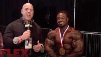 2018 Arnold Classic Champion, William Bonac Video Thumbnail