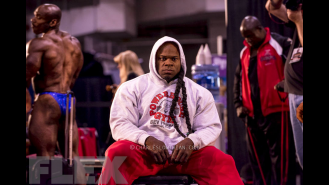 Through the Lens of Charles Lowthian: 2014 Olympia Backstage, Part 2 Gallery Thumbnail