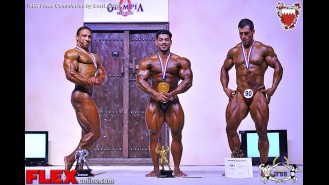 2013 Amateur Olympia - Up to 80kg Gallery Thumbnail