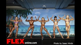 Comparisons - Women's Physique - IFBB Valenti Gold Cup Gallery Thumbnail