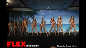 Comparisons - Bikini - IFBB Valenti Gold Cup Gallery Thumbnail
