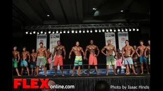 Comparisons - Men's Physique F - 2013 JR Nationals Gallery Thumbnail